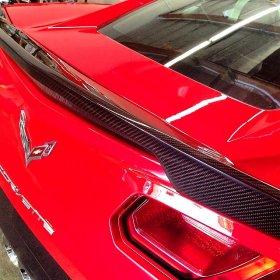 C7 Corvette Stingray APR Real Carbon Fiber Rear Deck Spoiler