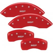 Audi Red Caliper Covers