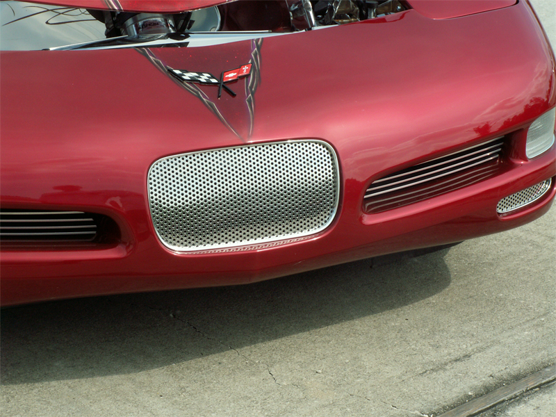 C5 Corvette Front License Plate Frame Filler - SouthernCarParts.com