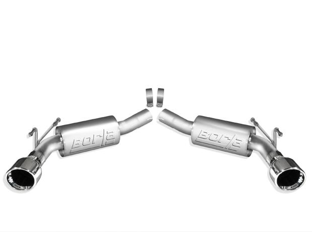 2010-2013 Camaro Exhaust, Camaro Exhaust system, Camaro Axle Back Exhaust