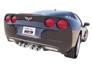 corvette borla exhuast, corvette exhaust system