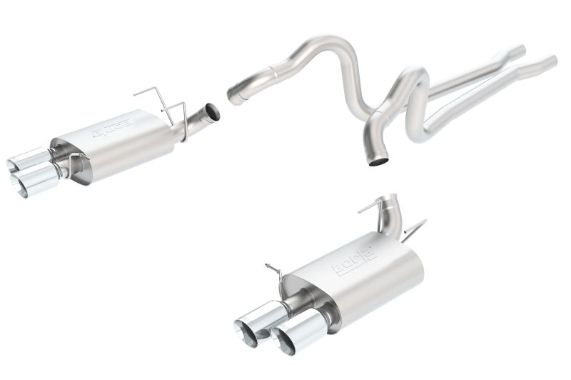Mustang Gt500 Borla Sport Exhaust: Stainless Steel Exhaust System Borla At Woreks.co