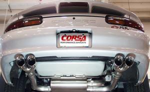 Corsa Chevrolet Camaro Z28 Amp Ss Dual Rear Exit Quad