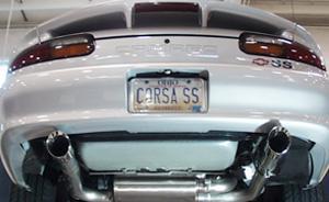 Corsa Camaro Exhaust