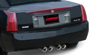 Corsa Cadillac XLR Exhaust