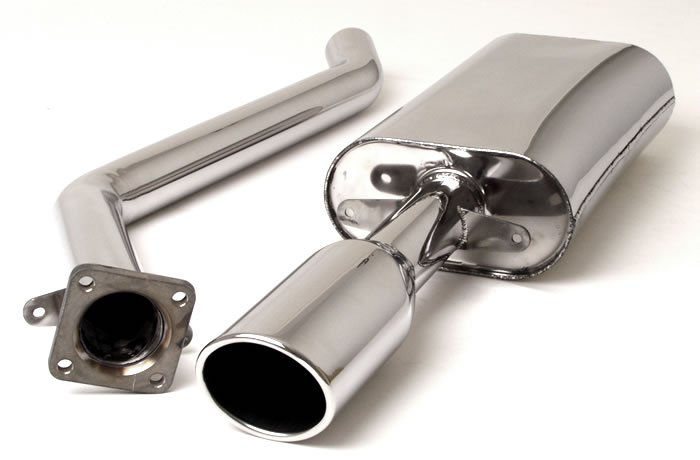 performance exhaust system for the Porsche 944