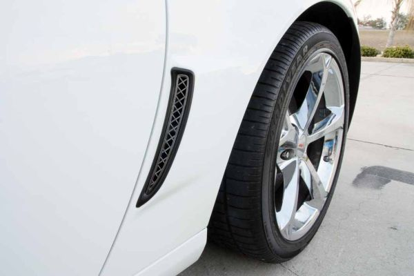 C6 Corvette Blakk Stealth Laser Mesh Side Vent Inserts