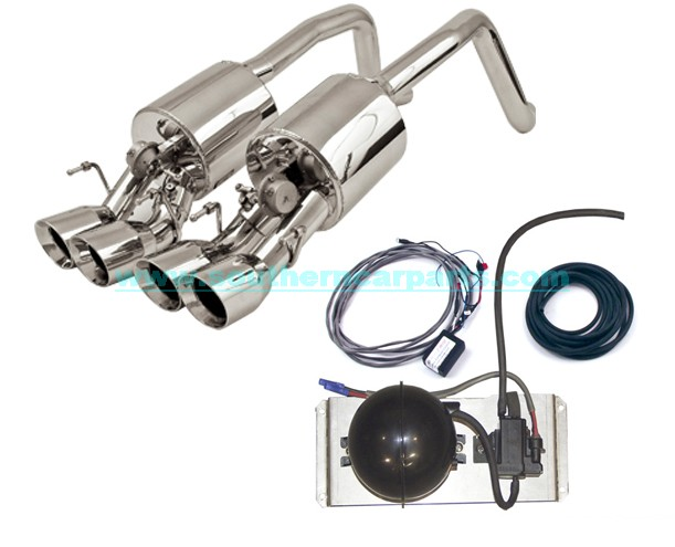 Corvette Fusion Exhaust system complete kit