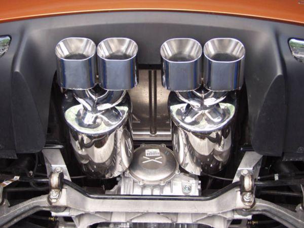 C6 Corvette Route 66 Exhaust