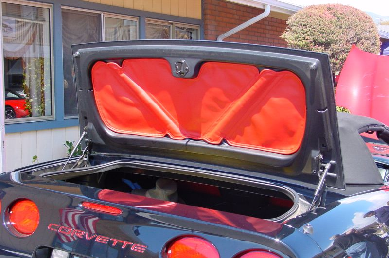 c5 corvette speed lingerie trunk lid liner. Black Bedroom Furniture Sets. Home Design Ideas