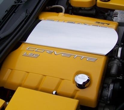 C6 Corvette LS2 Fuel Rail Covers