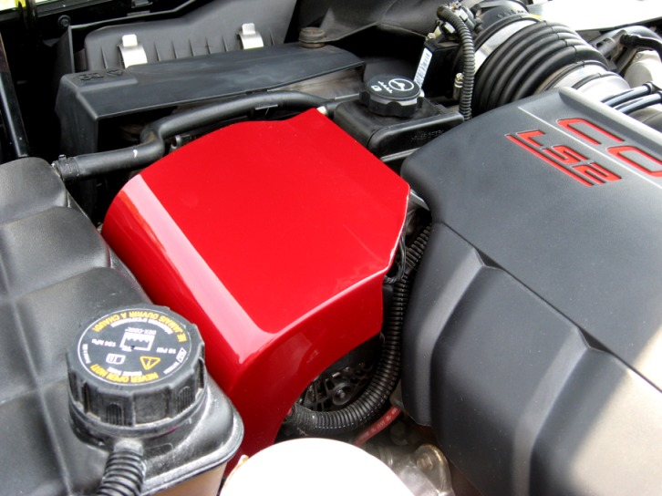 Corveet C6 Alternator Cover