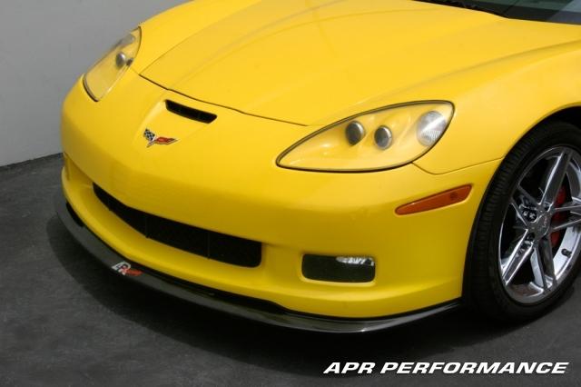 Carbon Fiber Corvette Front Air Dam