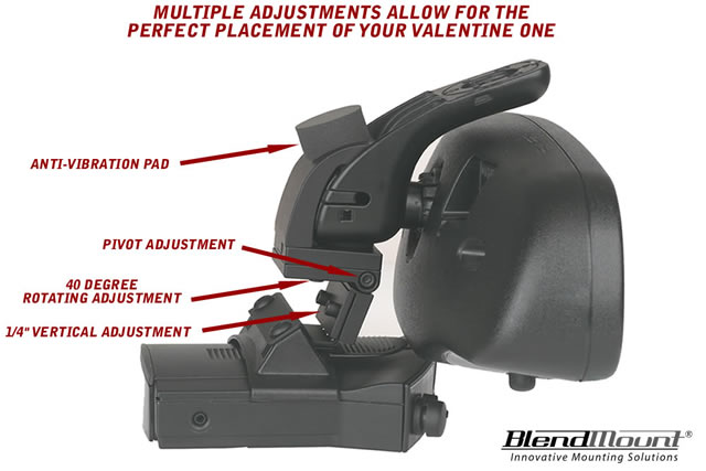 valentine one radar detector mount - Valentine One Mount