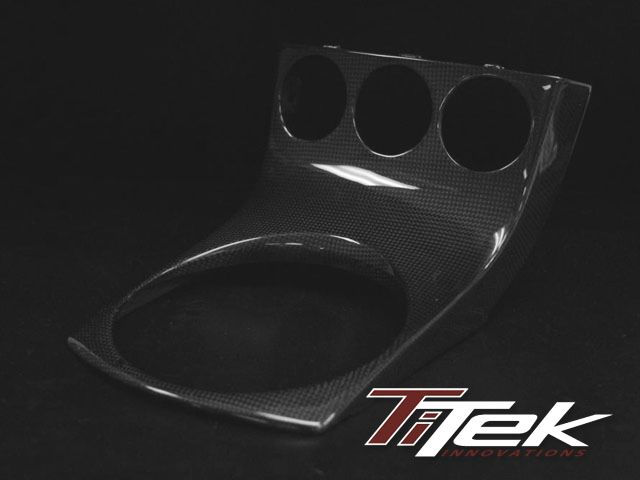Delightful Carbon Fiber Center Shifter Console Plate For The Nissan 350Z