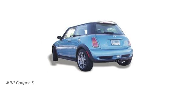 Billy Boat performance exhaust system for the BMW Mini Cooper S