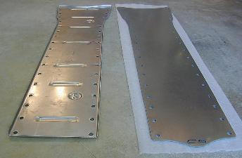 C5 Corvette  tunnel plate