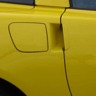 C6 Corvette door handles