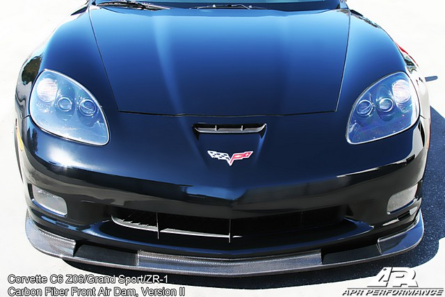 C6 Corvette Version II APR Splitter