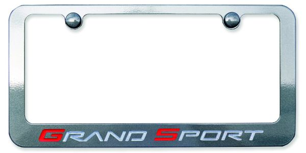 C6 Corvette GS License Plate Frame