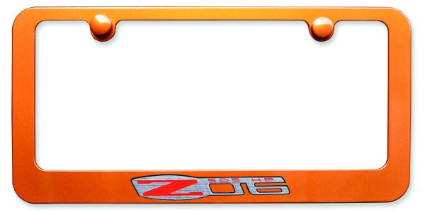 Corvette Z06 License Plate Frame