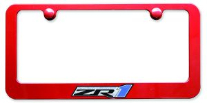 Corvette ZR1 License Plate Frame