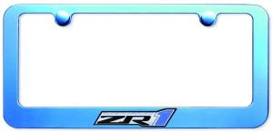 ZR1 License Frame