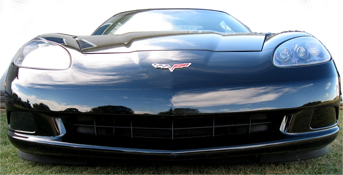 Corvette fog light blackout kit