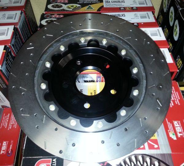 C6 Z06 DBA Two Piece Brake Rotors