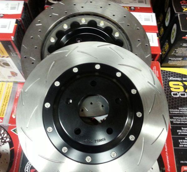 Z06 DBA 5000 Series Brake Rotors