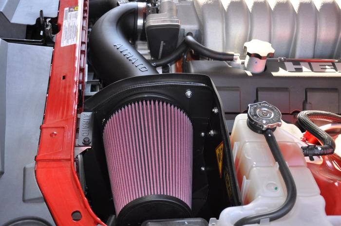 Dodge Challenger Airaid Intake