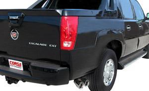 Corsa Cadillac Escalade Exhaust