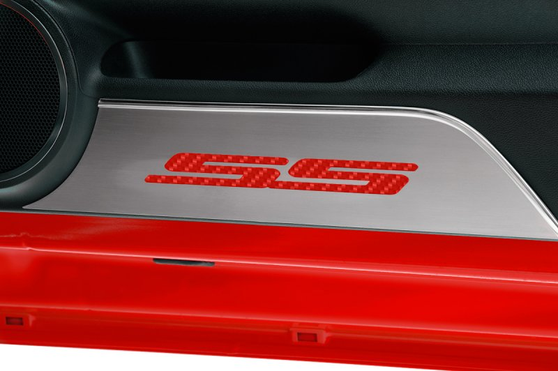 2010-2015 Camaro Door Kick Plates