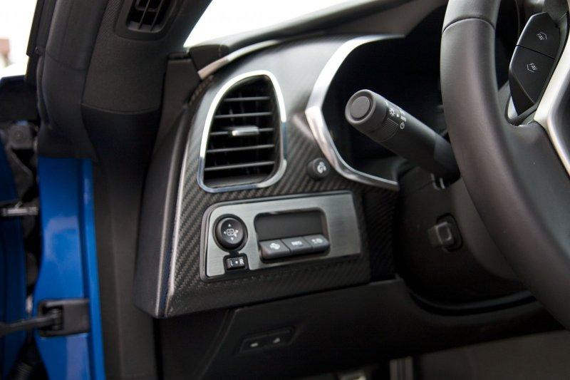 C7 Corvette Stingray Interior Custom Painted HUD/Mirror Trim Plate