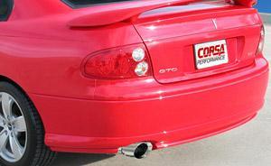 Corsa Pontiac GTO Exhaust