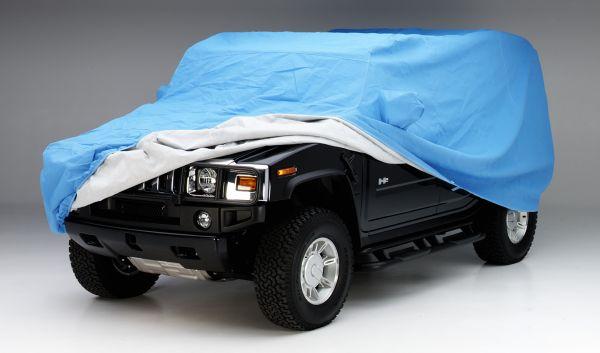 Evolution  Fabric Car Cover
