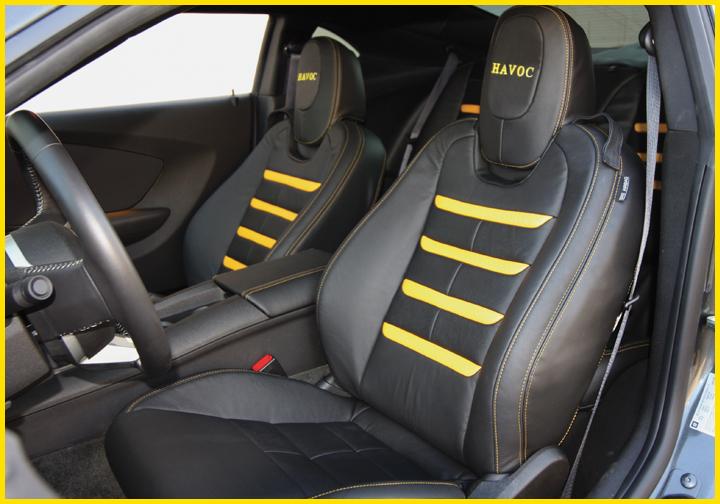 2010 2015 Camaro Havoc Leather Interior Kit