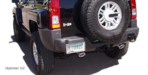 2005-2009 Hummer H3 Billy Boat Catback Exhaust System