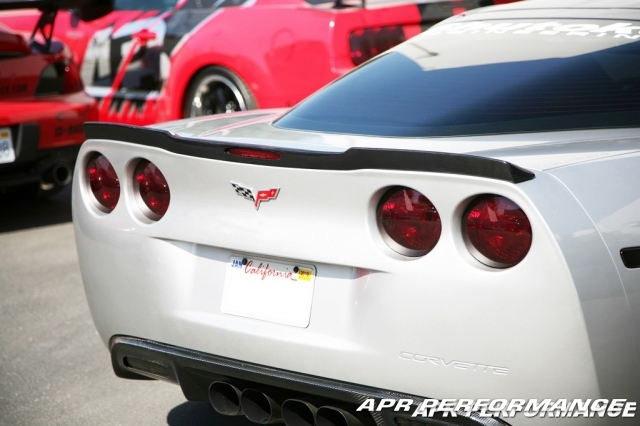C6 Corvette Carbon Fiber Rear Spoiler