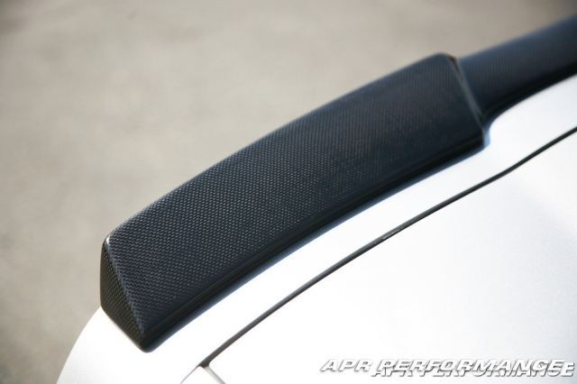 C6 Corvette Carbon Fiber ZR1 Rear Spoiler
