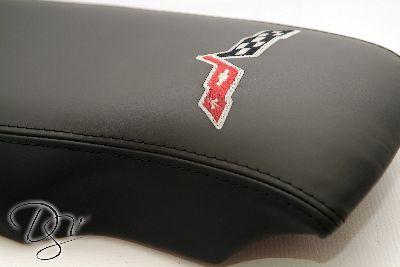 C6 Corvette Leather Console Lid