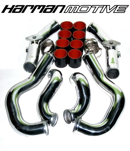 Nissan GT-R R35 Stainless Steel Intercooler Piping
