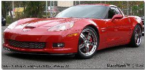 corvette parts, racemesh C6 Corvette  z06 grilles
