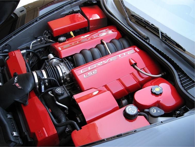 C6 Corvette Painted Radiator Shroud: 1989 Corvette Engine Partment Diagram At Eklablog.co