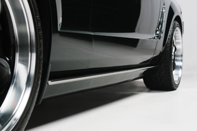 Retro Mustang Quarter Molding