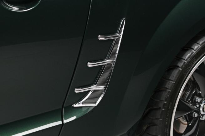 Retro USA Chrome Mustang Side Vent Trim
