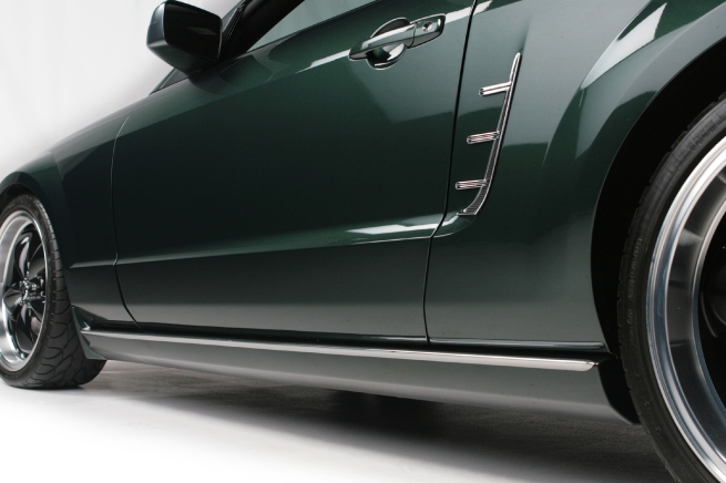 Mustang Chrome Side Vent Molding