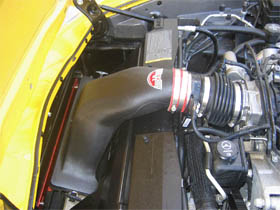 C6 Corvette intake system, C6 Corvette cold air intake