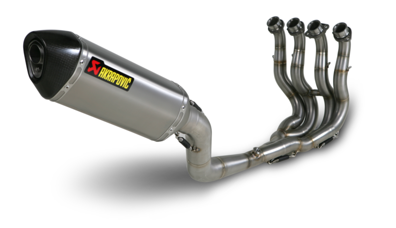 Suzuki Gsx R 600 And 750 Racing Akrapovic Exhaust And