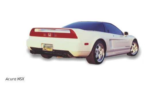 Billy boat performance exhaust for the Acura NSX